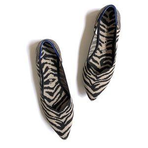 Rothy's black zebra points